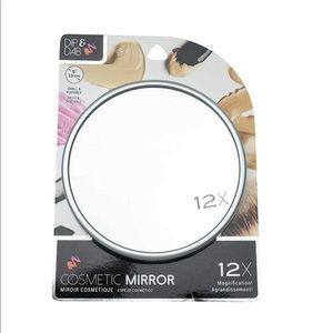 Jacent Dip& Dab 12X Magnification Cosmetic Mirror